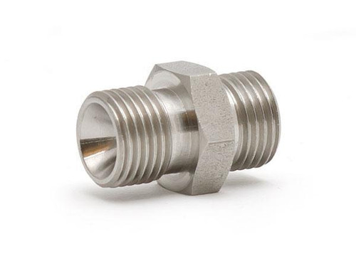 "Pressure fitting Bx G1/8"" male to G1/8"" male"