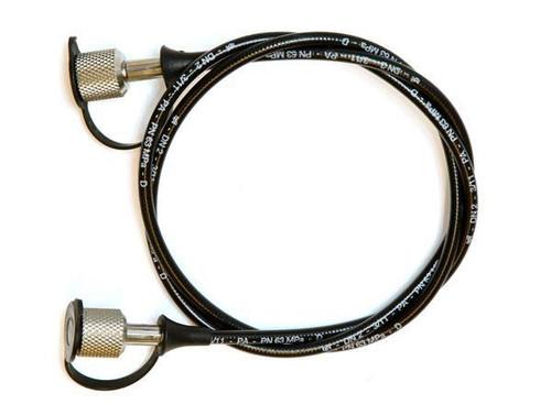 Pressure hose 630 bar, 1m