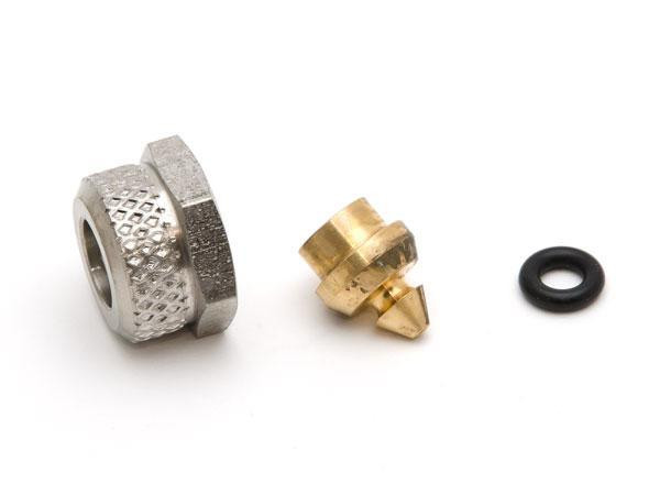 """Internal parts for pressure fitting Bx G1/8"""" female to 10/32"""""""