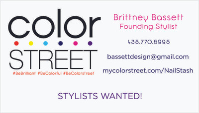 Nail Stylist Business Cards