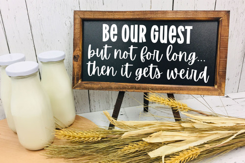 Be Our Guest Wall Print
