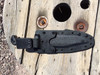 shown with four point attachment, black