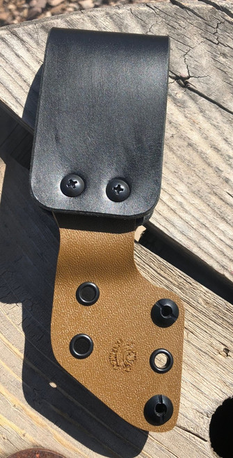 "tan, fits up to a 2 1/2"" web belt"