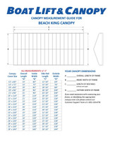Beach King - 13oz Vinyl Canopy Covers