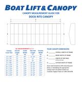 Dockrite - 13oz Vinyl Canopy Covers