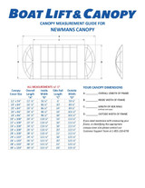Newmans - 13oz Vinyl Canopy Covers