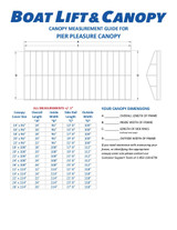 Pier Pleasure - 13oz Vinyl Canopy Covers