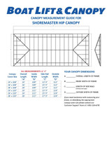 ShoreMaster Hip Roof - Harbor Time Canopy Covers