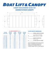 ShoreStation Aluminum Frame - Harbor Time Canopy Covers