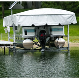 ShoreStation Aluminum Frame - 13oz Vinyl Canopy Covers