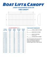 Vibo - 13oz Vinyl Canopy Covers
