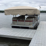 ShoreStation Steel Frame - 13oz Vinyl Canopy Covers
