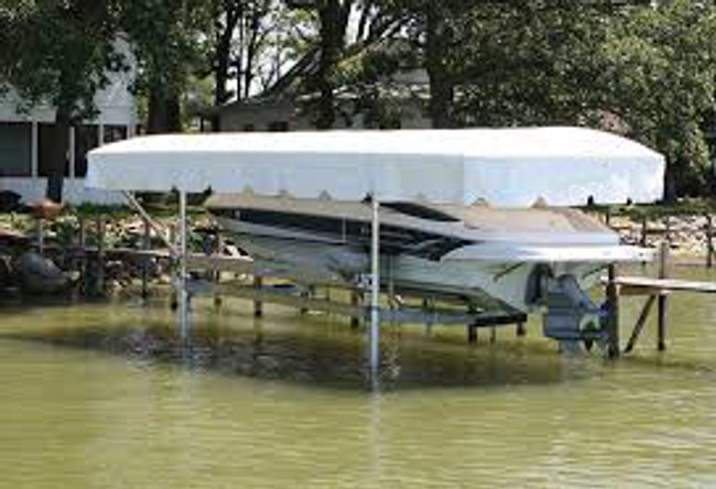 ShoreStation Steel Frame - Harbor Time Canopy Covers