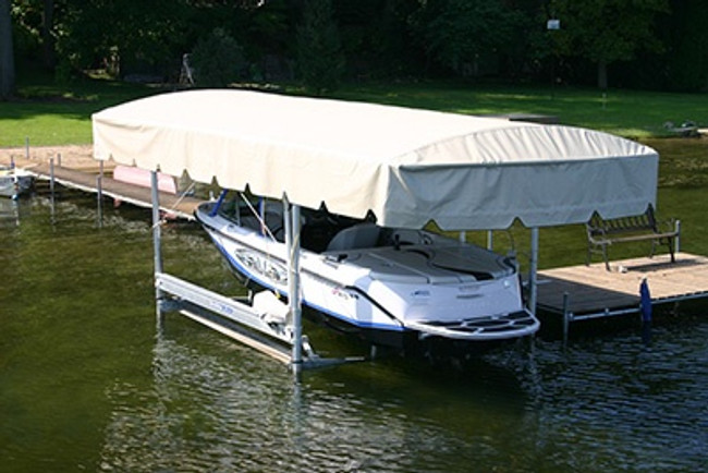 How to Properly Care for Your Boat Lift Canopy Fabric