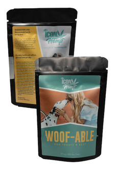 Woof- Able Dog Treats (Chicken or Beef)