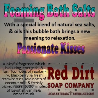 Passionate Kisses Foaming Bath Salt