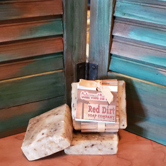 Tea Tree Cedarwood Bar, Red Dirt Soap, Natural soap, natural skin care, shampoo bar