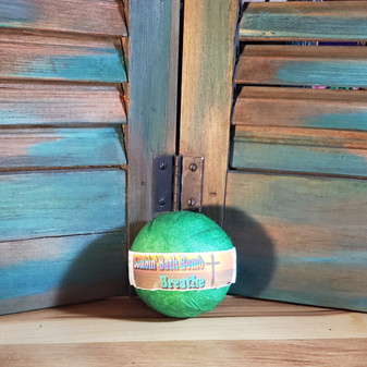 BATH BOMB, EUCALYPTUS ESSENTIAL OIL, NATURAL SKIN CARE, HEALTHY SKIN, RED DIRT SOAP