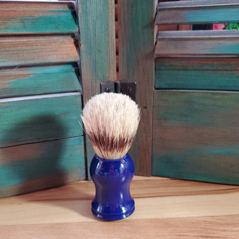boar shave brush, navy blue, shaving brush, skin care, red dirt soap, mens shaving kit