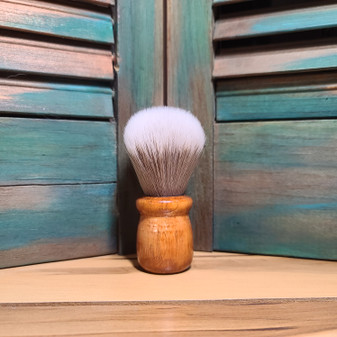 Grey Synthetic Shave Brush
