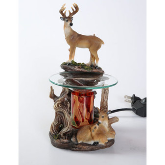 Deer Full Oil Warmer - FREE 10ML FRAGRANCE OIL