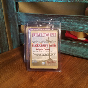 Black Cherry Natural Lotion Melt