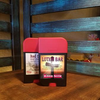 Rose Silk Lotion Bar