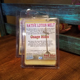Osage Hills Natural Lotion Melt