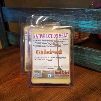 Okie Backwoods Natural Lotion Melt