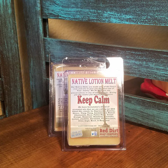 Keep Calm Natural Lotion Melt