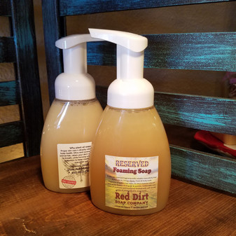 Reserved Natural Foaming Handsoap