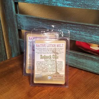 Redneck Okie Natural Lotion Melt