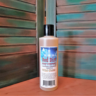 WILD CHILD, NATURAL LIQUID SOAP, RED DIRT SOAP