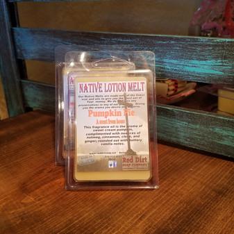 Pumpkin Pie Natural Lotion Melt