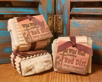 Wild Wild West Natural Bar Soap (also available in loaves)