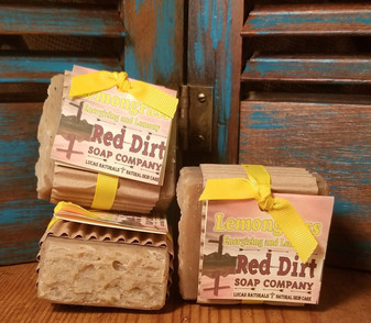 Lemongrass Natural Bar Soap (also available in loaves)