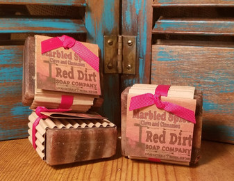 Marbled Spice Natural Bar Soap (also available in loaves)