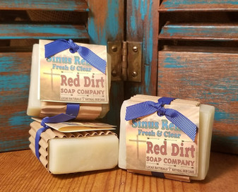 Sinus Relief Natural Bar Soap (also available in loaves)