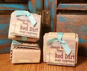 Osage Hills Natural Bar Soap (also available in loaves)