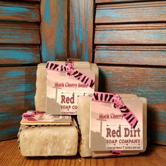 Black Cherry Natural Bar Soap (also available in loaves)