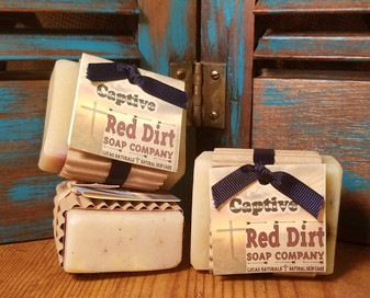 Captive Natural Bar Soap (also available in loaves)