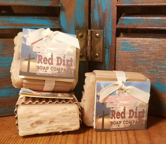 Honey Almond Natural Bar Soap (also available in loaves)