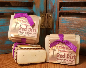 Patchouli Natural Bar Soap (also available in loaves)