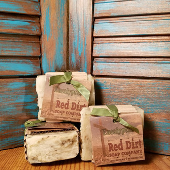 Eucalyptus Natural Bar Soap (also available in loaves)