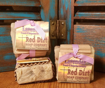 Lavender Natural Bar Soap (also available in loaves)