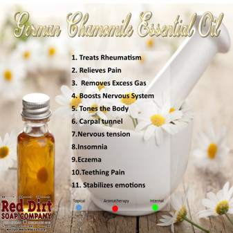 German Chamomile essential oil—Red Dirt Soap Company