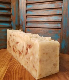 Honey Oatmeal Natural Soap Loaf (Unscented)