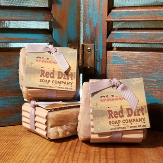 Gideon Natural Bar Soap (also available in loaves)