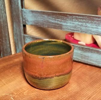 Colorado Mountain Hand Thrown Stoneware Shave Mug