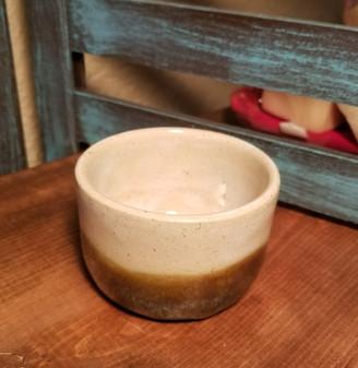 Dessert Sand Hand Thrown Stoneware Shave Mug